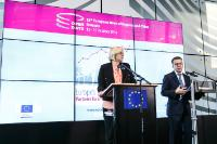 Participation of Corina Creţu and Carlos Moedas, to the Open Days of the 13th European Week of Regions and Cities