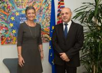 Visit of Tomislav Donchev, Bulgarian Deputy Prime Minister for EU Funds and Economic Policies, and Temenuzhka Petkova, Bulgarian Minister for Energy, to the EC