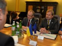 Visit by Johannes Hahn, Member of the EC, to Ukraine