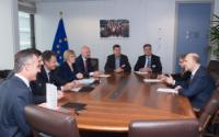 Visit of representatives of associations of Belgian publishers of daily newspapers and magazines to the EC