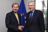 Visite d'Yves Leterme, secrétaire général d'International IDEA, à la CE