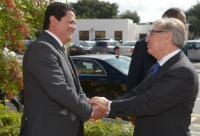 Visite de Karmenu Vella, membre de la CE, à Malte