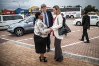 Visite de Federica Mogherini, vice-présidente de la CE, en Afrique du Sud