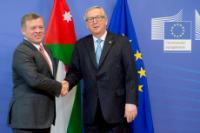 Visit of Abdullah II, King of Jordan, to Brussels