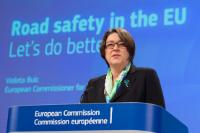 Press conference by Violeta Bulc, Member of the EC, on the road safety statistics for 2015