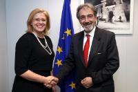 Visit of Francesco Rocca, President of the Italian Red Cross, to the EC