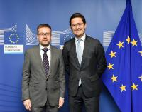 Visit of Nicolas Dufourcq, Executive Director of BPI-Groupe, to the EC