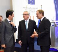 Réunion des dirigeants UE/Japon, 3/05/2016
