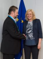 Visit of Cristian Pîrvulescu, Member of the European Economic and Social Committee (EESC), to the EC