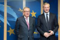 Visit of Bruno Le Maire, Member of the French National Assembly, to the EC