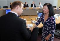 Visit of a group of Czech mayors to the EC