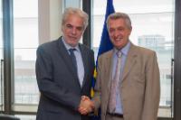 Visite de Filippo Grandi, Haut commissaire des Nations unies pour les réfugiés, à la CE