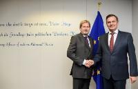 Visite d'Anatoly Kalinin, vice-Premier ministre biélorusse, à la CE