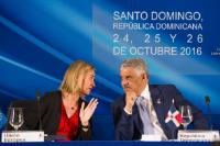 Visit of Federica Mogherini, Vice-President of the EC, to the Dominican Republic