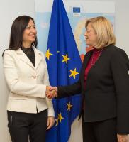 Visit of Iliana Ivanova, Member of the European Court of Auditors, to the EC