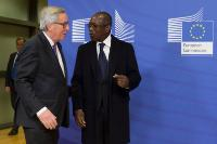 Visit of Patrice Talon, President of Benin, to the EC