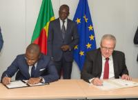 Visite de Patrice Talon, président du Bénin, à la CE