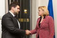 Meeting between Andrey Novakov, Member of the EP, and Corina Creţu, Member of the EC