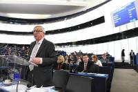 Visit by Jean-Claude Juncker, President of the EC, and several Members of the College of the EC, to Strasbourg