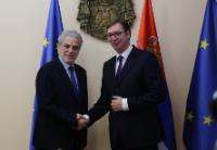 Visite de Christos Stylianides, membre de la CE, en Serbie