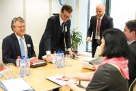 Visit of Joerg Wuttke, President of the European Union Chamber of Commerce in China, to the EC