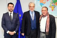 Visit of Alexis Charitsis, Greek Deputy Minister for Economy, Growth and Tourism, and Ioannis Mouzalas, Greek Alternate Minister for Migration, to the EC
