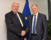 Visit of Jānis Dūklavs, Latvian Minister for Agriculture, to the EC