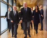 Visit of Isa Mustafa, Kosovan Prime Minister, to the EC