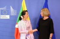 Visit of Daw Aung San Suu Kyi, First State Counsellor and Spokesperson for the Presidency of Myanmar/Burma, to the EC