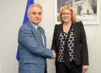 Visit of Viorel Ştefan, Romanian Minister for Public Finance, to the EC