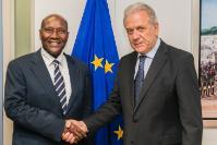 Visit of Daniel Kablan Duncan, Vice-President of Côte d'Ivoire, to the EC