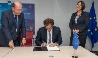 Visite de Bernard Nikaj, ambassadeur du Kosovo en Belgique*, à la CE