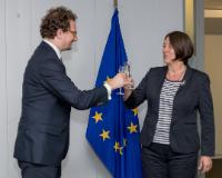 Visit of Bernard Nikaj, Ambassador of Kosovo to Belgium*, to the EC