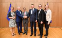 Visit of Jörg Leichtfried, Austrian Federal Minister and a delegation of representatives from universities and local governments from Carinthia and Styria, to the EC