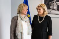 Visit of Alenka Smerkolj, Slovenian Minister without portfolio responsible for Development, Strategic Projects and Cohesion, to the EC