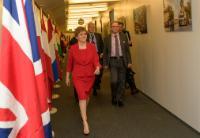 Visite de Nicola Sturgeon, Première ministre du gouvernement écossais, à la CE