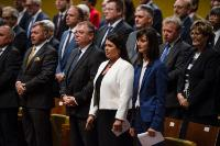 Swearing-in ceremony of Mariya Gabriel, Member of the EC, at the Court of Justice of the EU