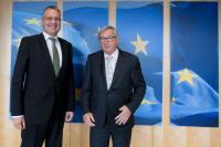 Visit of Markus Ederer, Secretary of State to the German Federal Ministry for Foreign Affairs, to the EC.