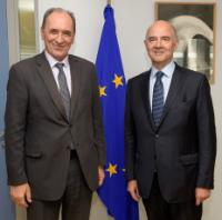 Visit of Georgios Stathakis, Greek Minister for Environment and Energy, to the EC
