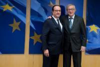 Visite de François Hollande, ancien président de la République française, à la CE