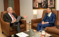 Visit of Ahmed Reda Chami, Head of the Mission of Morocco to the EU, to the EC