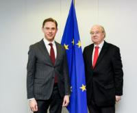 Visit of a delegation from the Committee for European Affairs of the French Senate to the EC