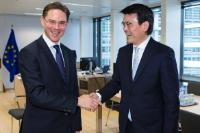 Visit of Edward Yau, Secretary for Commerce and Economic Development of Hong Kong, to the EC
