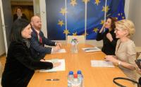 Visit of Aurelia Frick, Minister for Foreign Affairs, Education and Culture of Liechtenstein, to the EC