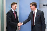 Visit of Antti Häkkänen, Finnish Minister for Justice, to the EC