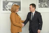 Visit of Ştefan-Radu Oprea, Romanian Minister for Business Environment, Commerce and Entrepreneurship, to the EC