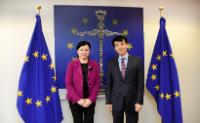 Visit of Wook Hur, Vice Chairman of Korea Communications Commisson, to the EC.