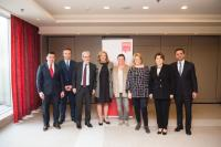 Visit by Corina Creţu, Member of the EC, to Luxembourg