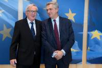 Visit of Filippo Grandi, United Nations High Commissioner for Refugees (UNHCR), to the EC