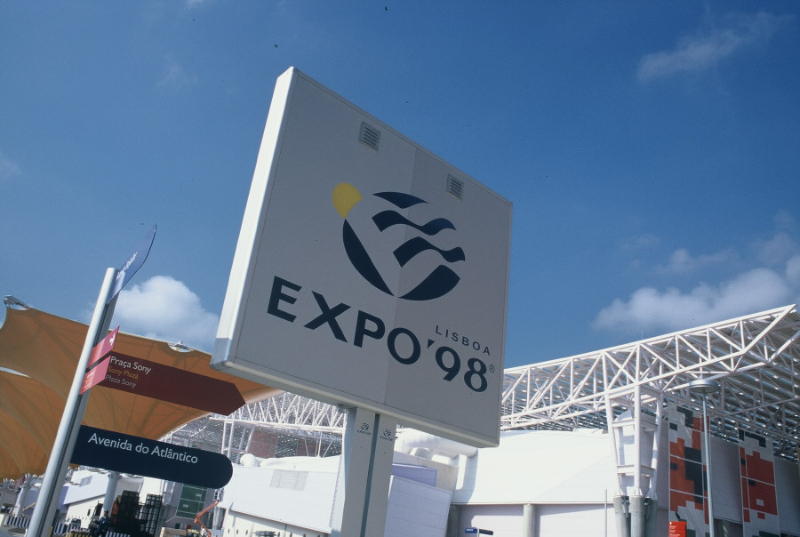 The European Pavilion at the 1998 Lisbon Exhibition